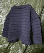 80s Issey Miyake 3d Bamboo Knit Sweater Vintage Women's Tops 5k237