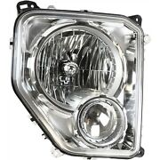 Headlight For 2008 2009 2010 2011 2012 Jeep Liberty Right With Bulb