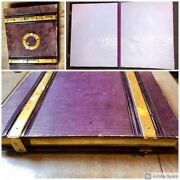 High Quality Antique Photo Album European Royalty And Notables 1860s Many Ids