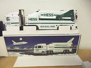 Hess 1999 Toy Truck And Space Shuttle With Satellite Head And Tail Lights Sound
