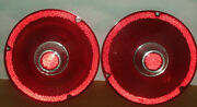 Pair Of Vintage 1961 Ford Fairlane Tail Light Lens Covers Fomoco Part Frst-61