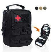 Tactical First Aid Kits Bag Emergency Emt Pouch Military Medical Utility Molle
