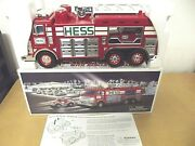 2005 Hess Emergency Truck With Jeep Rescue Vehicle, Lights, Sounds Collectable