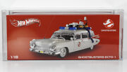 Hotwheels 2013 Ghostbusters Ecto-1 118 Scale Dca Graded 85nm+ Factory Sealed