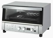 Tiger Convection Oven Toaster Silver With Recipe Freshly Made Kas-g130-sn