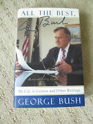 All The Best, George Bush By George Hw Bush Signed Autographed Ford Motor Co