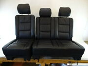 08 Mercedes W463 G500 G55 Seats Rear Left And Right Black