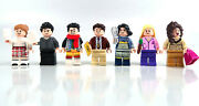 Lego Friends Apartment Minifigures And Accessory From Set 10292 - All Seven