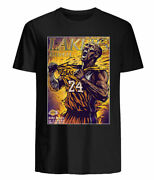 Kobe Bryant Los Angeles Lakers Jersey A Legend Lost The Lionand039s Roar T-shirt