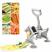Commercial Manual French Fries Cutter Potato Chips Veg Cutting Slicer Chopper Us