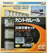 Tomix 91013 Canted Track Bridge Approach Set Track Layout Pattern Cc N Scale