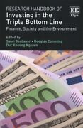 Research Handbook Of Investing In The Triple Bottom Line Finance Society A...