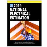 2019 National Electrical Estimator By Tyler Mark C Book The Fast Free Shipping