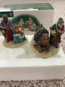 """Dept 56 Little Town Of Bethlehem """"wise Men From The East"""" Set Of 2 In Box 59792"""