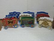 Circus Wagons Vintage Cars Ready To Hit Your Town O Scale