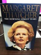 Margaret Thatcher Signed The Downing Street Years Book Autograph Jsa Authentic