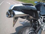Exhaust Hellfire-race Silencer For Bmw R1200 Sgebuestet/brushed