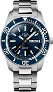 Authorized Dealer Ball Engineer Master Ii Skindiver Heritage Blue Dm3308a-s1c-be