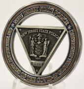 2020 New Jersey State Police Pandemic 2 Challenge Coin C O V I D Response