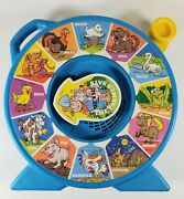 Vintage 1989 Mattel See N Say Toy Spinner The Farmer Says Works Perfectly