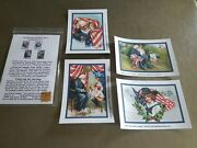 Olde American Antiques Quilt Blocks Sewing Quilting Civil War Remembrance