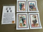 Olde American Antiques Quilt Blocks Sewing Quilting Civil War Remembrance Set 2