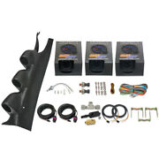 15-21 Ford Mustang Triple Pod Gauge Package W/ Trans Temp, Oil And Fuel Pressure
