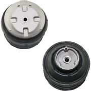 New Motor Mounts Set Of 2 Front Driver And Passenger Side For Mercedes Lh Rh Pair