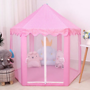 Baby Toy Tent Portable Princess Tent Children Castle Play House Kid Gifts
