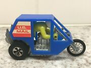 Vintage Hot Wheels Rrrumblers - Rip Code - Us Mail Motorcycle - Great Condition