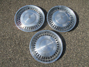 Genuine 1973 To 1977 Oldsmobile Cutlass 15 Inch Hubcaps Wheel Covers
