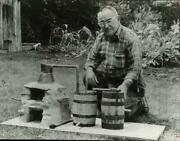 1972 Press Photo Buck Carver With His One-gallon Moonshine Still - Hpa44281