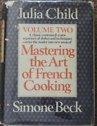 Mastering The Art Of French Cooking Volume Two By Child Julia Beck Simone