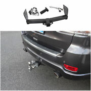For Jeep Grand Cherokee 2011-2021 Cast Iron Rear Bumper Trailer Tow Hitch Hook