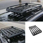 Aluminum Black Roof Rail Luggage Rack Carrier For Jeep Grand Cherokee 2011-2021