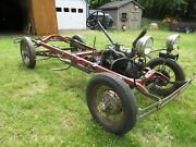 1931 Ford Model A 1930 1931 Ford Model A Frame Running Gear Chassis For Coupe Sedan Roadster Truck