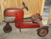 Old Bmc Tractor Pedal Car