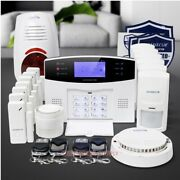 Homsecur App Controlled Wireless 2g Home House Alarm System With Red Flash Siren