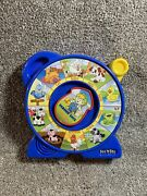 Vintage 1989 Mattel See N' Say The Farmer Says Animal Sounds Blue