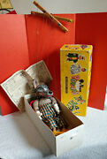 Vintage Pelham Puppet Marionette Wolf Orig Box Instructions 1963 Made In England