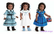 American Girl Doll Beforever Addy, Accessories, School Outfit, Nightgown Lot New