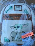 Loungefly Baby Yoda The Child Frog Backpack Bnwt New