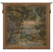 Verdure Cascade French Tree Landscape Decor Woven Tapestry Wallhanging New