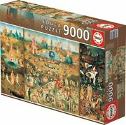 9000 Pieces Jigsaw Puzzle Educathe Garden Of Earthly Delights, Hieronymus Bosch