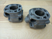 Replated Yamaha Tz250a 1990 Cylinders 3tc-11310-00 One Pair
