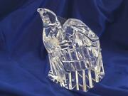 Steuben Glass American Eagle Signed Paperweight