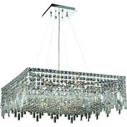 Asfour Crystal Kitchen Island Dining Living Room Foyer 12 Light 28 Chandelier