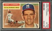 1956 Topps 272 Danny O'connell Psa 6 Ex-mt