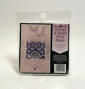 Mill Hill Stitched And Beaded Petite Purses Victorian Sapphire Kit Mhsbpp4