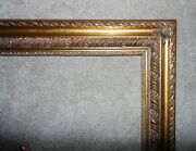 Large Vintage Picture Frame Gilt Wood And Gesso 24 X 36 Rabbet Opening